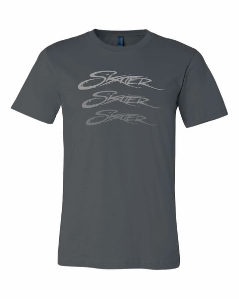 Grey 100% Cotton Skater Fade T-Shirt