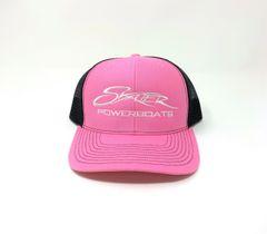 Pink/Black Snapback Trucker Cap