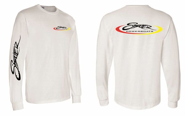 White Dry-Blend Longsleeve T-Shirt