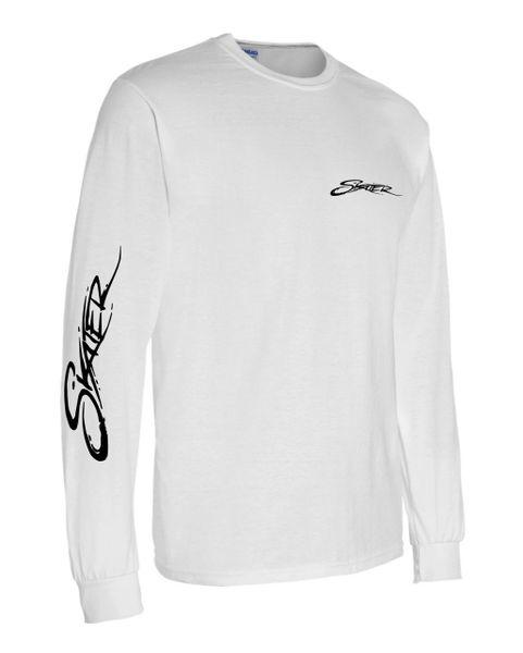 White Longsleeve T-Shirt