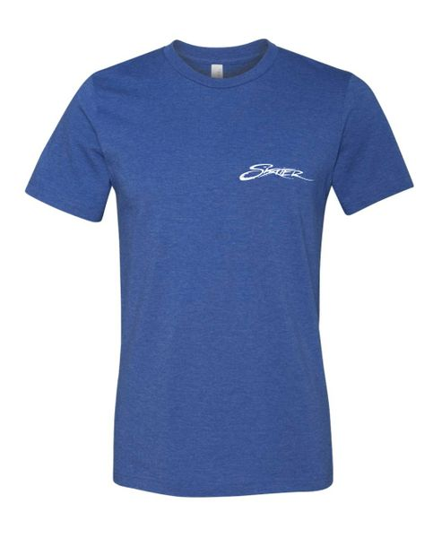 Heather Royal Crew Neck T-Shirt