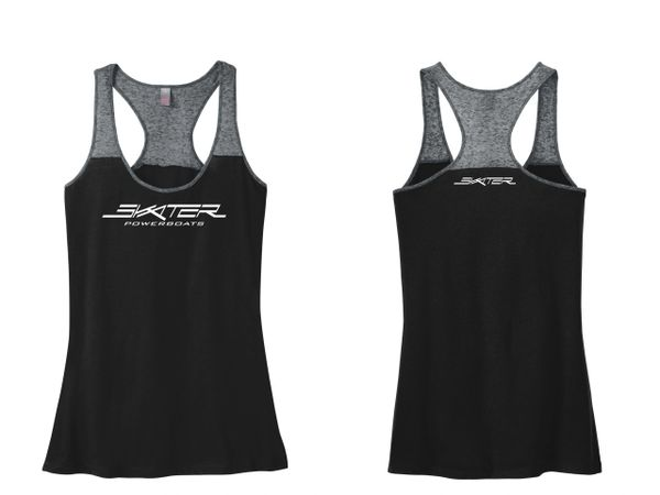 Two-Tone Racerback Tank Top
