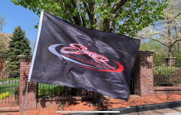 Single-Sided Sublimated Outdoor Flag