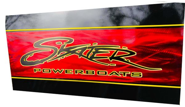 Skater Powerboats Sign by Tim Harcrow