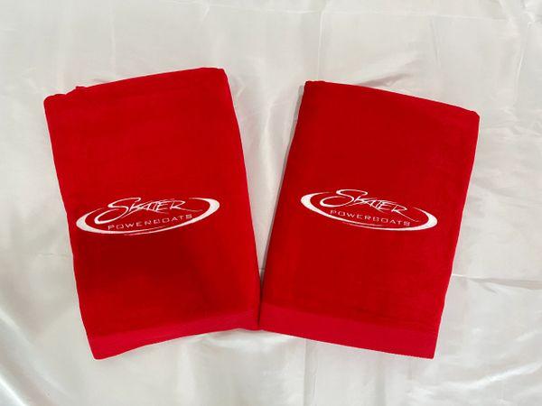 Red Fat Towel Set