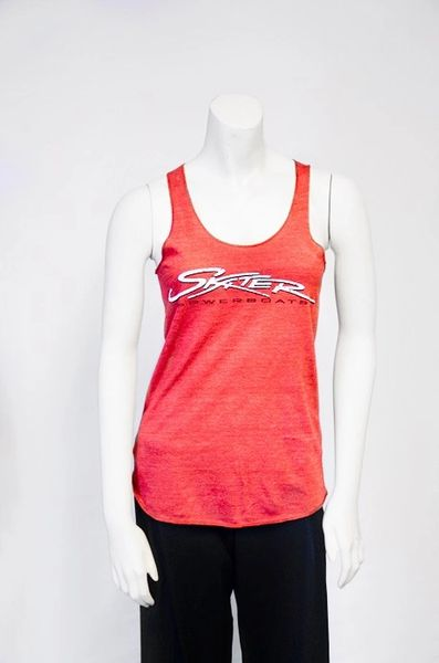 Women's Red Racerback Tank