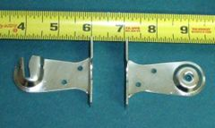 "1 pair ROLLER SHADE Heavy Duty 2"" EXTENSION OUTSIDE MOUNT BRACKETS"