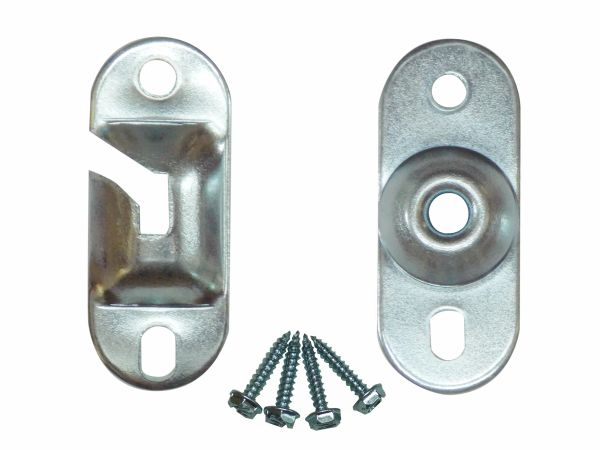 Heavy Duty INSIDE MOUNT Brackets for Standard Roller Window Shades (1-Pair)