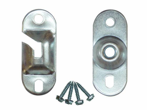 Heavy Duty INSIDE MOUNT Brackets for Standard Roller Window Shades (1-Pair)
