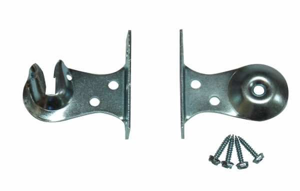 Heavy Duty OUTSIDE FACE MOUNT Brackets for Roller Window Shades (1-Pair)