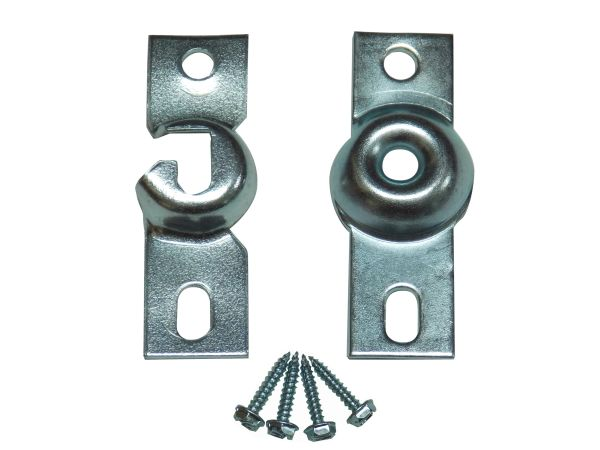 Standard INSIDE MOUNT ROLLER SHADE IB BRACKETS with Screws (1-Pair)