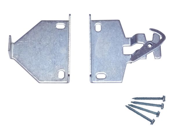 "ROLLEASE - RB580 Clutch Roller Shade 2"" EXTENSION Brackets - 5/8"" Tab"