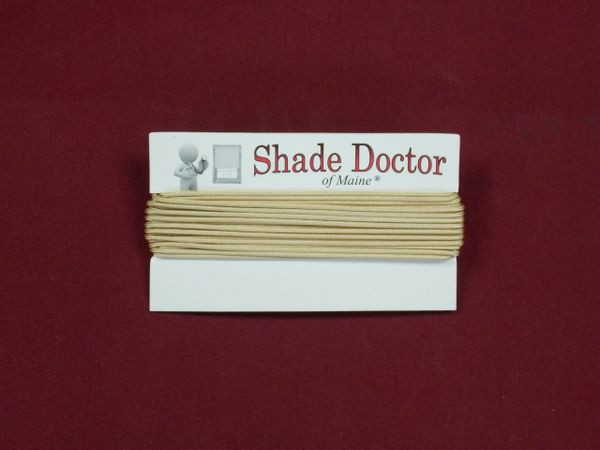 Tan Lift Cord for Shades & Blinds - Sold by the Yard