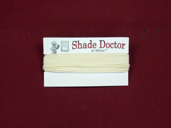 Alabaster Lift Cord for Shades & Blinds - Sold by the Yard