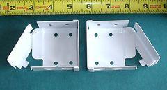 "1 pair 2"" WOOD BLIND or VENETIAN BLIND 2"" X 2"" High Profile BOX BRACKETS"