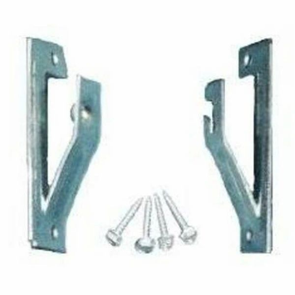 ADJUSTABLE INSIDE MOUNT BRACKETS for Standard Roller Window Shades (1-Pair)