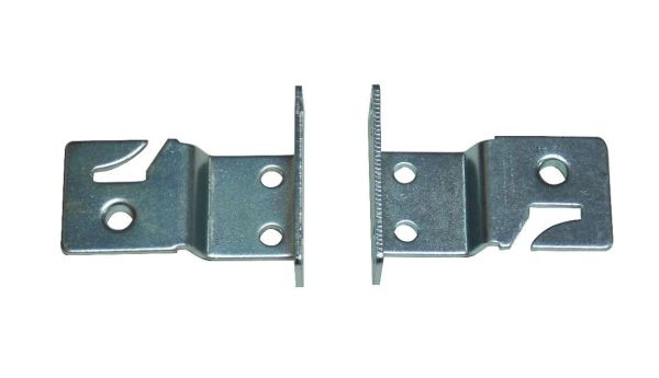 UNIVERSAL MOUNT BRACKETS for Roller Window Shades with a METAL Roller (1-Pair)
