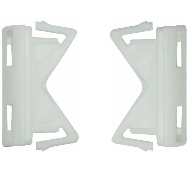 END CAPS for Kirsch Continental II Flat Valance Rods (One Pair)