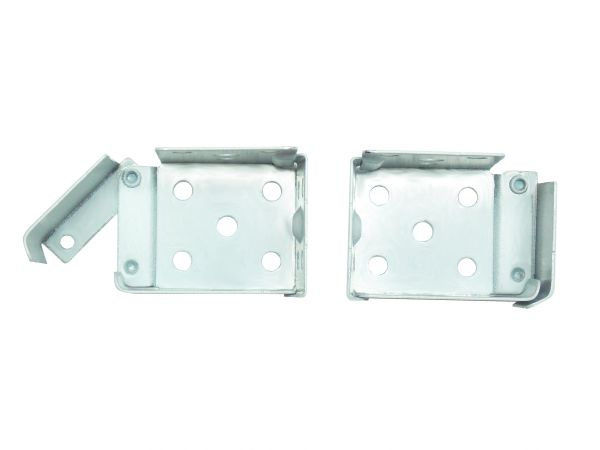 "ALL METAL Swing Gate MICRO or MINI BLIND End Brackets for 1"" X 1"" Square Headrails"