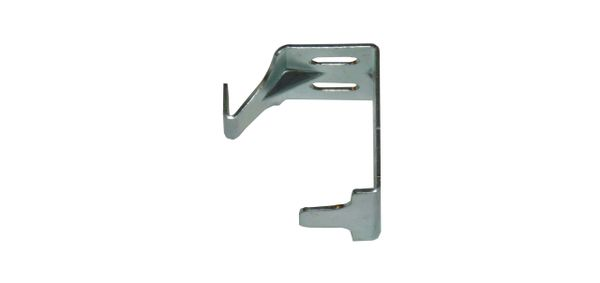 "1"" Micro or Mini Blind CENTER SUPPORT Bracket for 1"" Square Headrail"