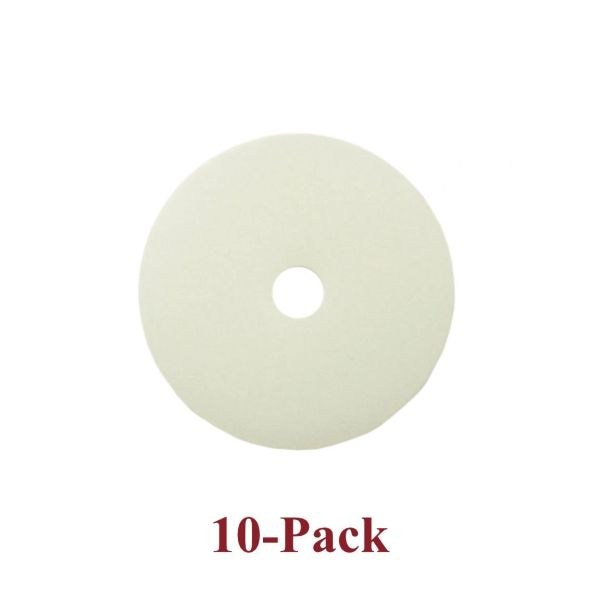 Plastic Backs (Washers) to Prevent Puckering on Fabric with Upholstery Nails or Pins (10-Pack)