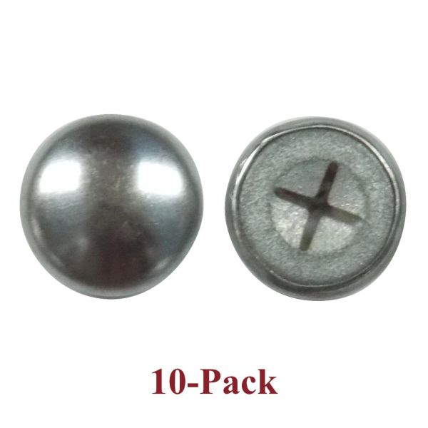 Upholstery Nail CAP LOCK Backings - Fits ALL of our Upholstery Nails (10-Pack)