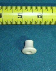 RV Day Night PLEATED CELLULAR SHADE White RAIL KNOB
