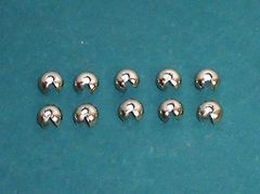 10 Pack of CRIMP BALL BEAD STOPS for Limiting Operation of CLUTCH Roller Shades