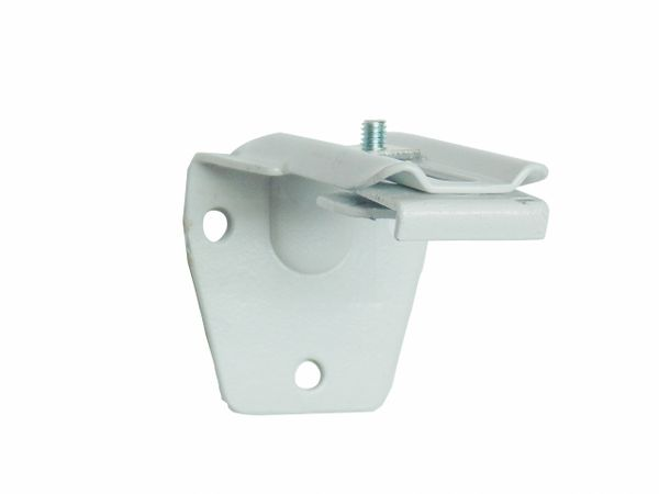 "Adjustable Mounting Bracket for EZ-Track rails - 3"" to 4 1/2"" Projection - Wall or Ceiling Mount"