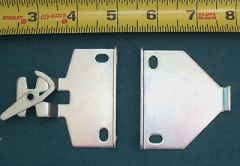"1 pr LARGE ROLLEASE Roller Shade R16 EXTENSION CLUTCH BRACKETS ~ 5/8"" Tab"