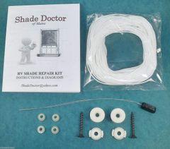 Shade Doctor of Maine RV Camper Motorhome Pleated Shade Restring Repair Kit