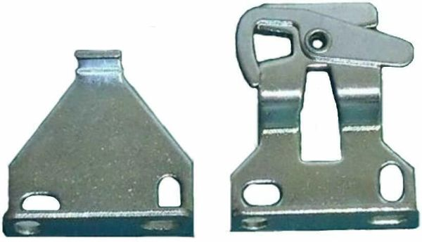 "Shade Doctor of Maine - Clutch Roller Shade Brackets - 3/8"" Tab"