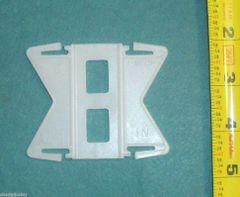 "Kirsch 2 1/2"" CONTINENTAL II Rod FLEXIBLE CORNER & BAY WINDOW ADAPTER"