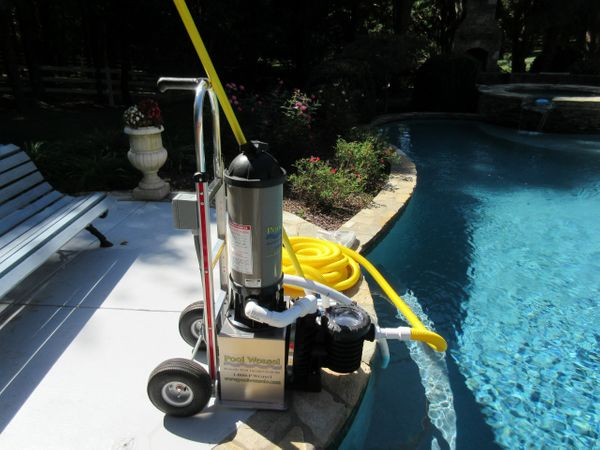 Pool Weasel Pool Weasel Portable Commercial Pool Vacuum