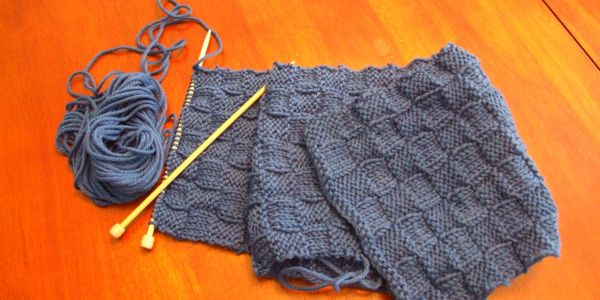 Learn how to knit basic workshop