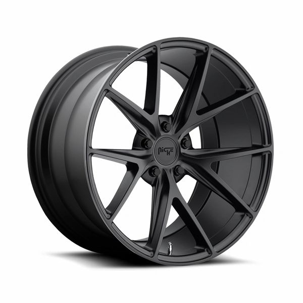 "NEW 19"" & 20"" NICHE MISANO Gunmetal / BLACK rims(5x4.75) – DOUBLE STAGGERED - Chevrolet CORVETTE"