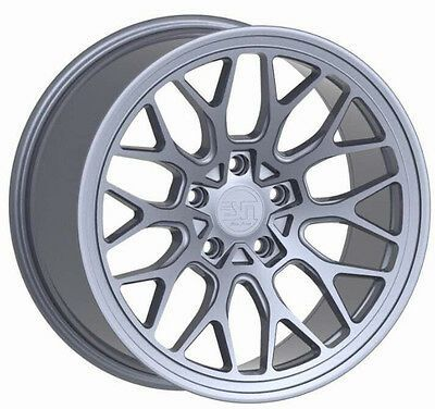 Four NEW Authentic 18ESM-FF1 Flow Formed rims (5x130) - Porsche