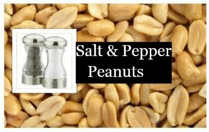Salt & Pepper Peanuts