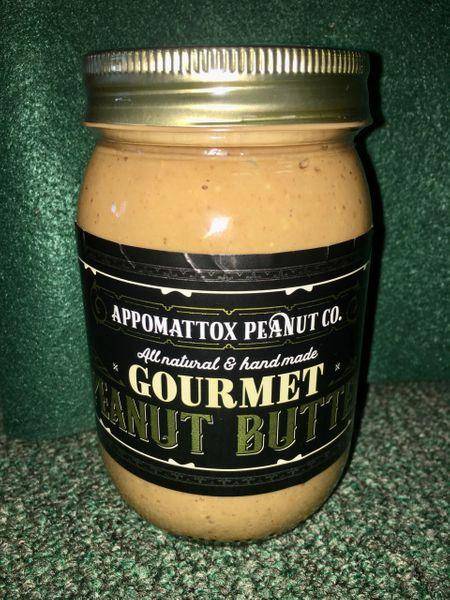 All Natural Gourmet Peanut Butter 16oz jar