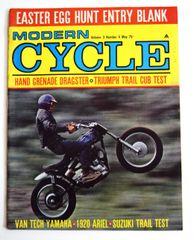 """VanTech Yamaha"" Modern Cycle (May 1967)"