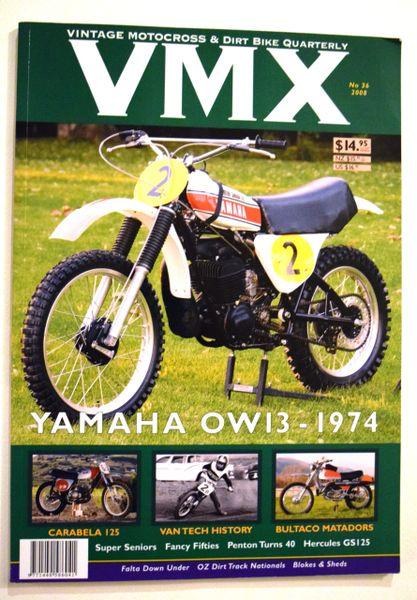 VMX - Vintage Motocross & Dirt Bike Quarterly No. 36 and No. 49