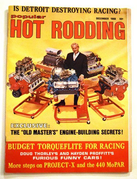 """""""Building A VanTech Scrambler"""" by Marvin Patchen - Hot Rodding (December 1968)"""