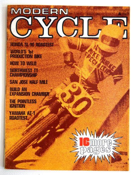 """Hodaka VanTech Custom"" - Modern Cycle (August 1969)"