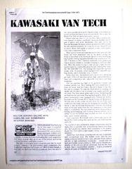"""Kawasaki VanTech - MotorCYCLIST"