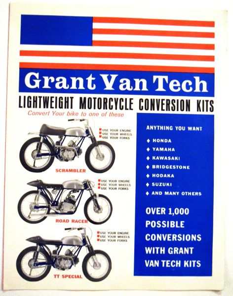 Grant VanTech Brochure For Motorcycle Conversion Kits