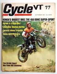 """VanTech America's Other Manufacturer"" by Gordon Jennings - Cycle (September 1967)"