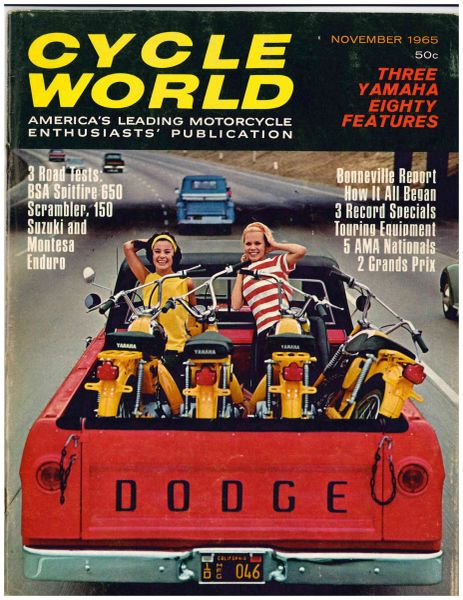 """VanTech Moto-Cross 80"" by Gordon Jennings Cycle World (November 1965)"