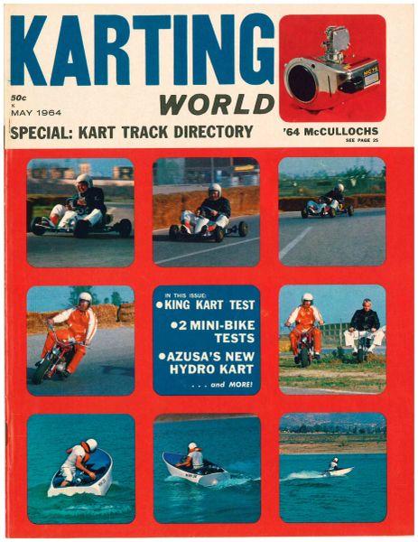 """Test: Sprite"" - Karting World (May 1964)"