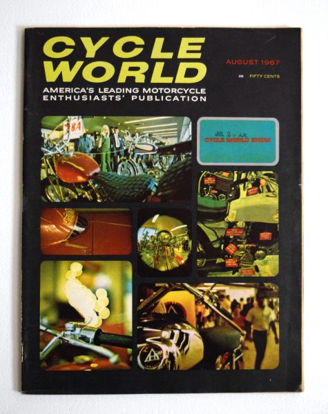 """The VanTech-Grant Story"" Cycle World (August 1967)"