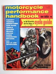 """Two Wheeled Ferraris"" By Bob Braverman - Motorcycle Performance Handbook (May 1968)"